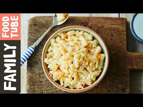 Carrot & Ricotta Pasta for Babies & Kids | Michela Chiappa