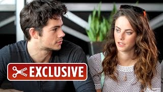 Exclusive Interview - The Maze Runner Cast (2014) HD