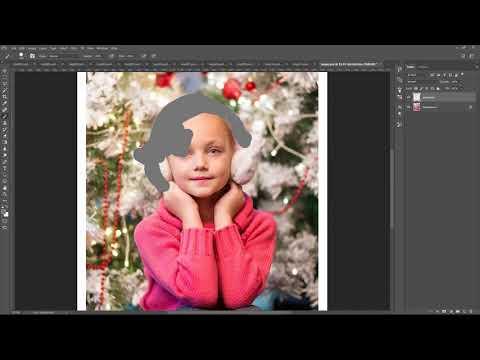 Celebratum 2 - Christmas Snowflakes Photoshop Action Tutorial