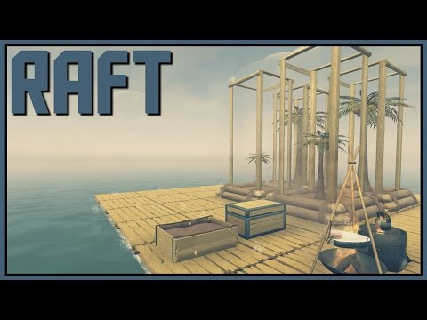 Net Gain - Raft Gameplay - Part 10 [Let's Play Raft Game / Raft Gameplay]