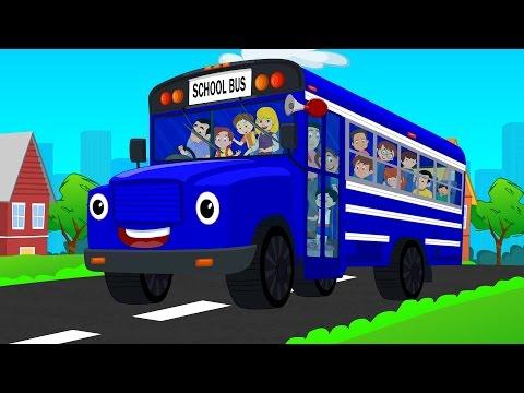 Wheels on the bus nursery rhyme for children | Children's songs