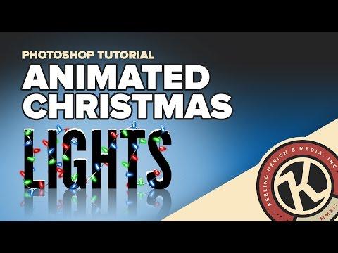 Photoshop Tutorial: Animated Christmas Lights