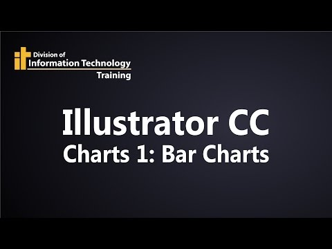 Illustrator CC Charts 1 - How to make and edit a bar chart