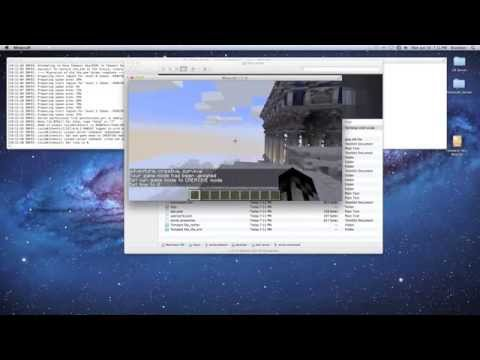 How To Install Custom Maps Minecraft Mac OS X Tutorial