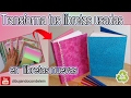 Como reciclar libretas usadas, DIY manualidades fáciles