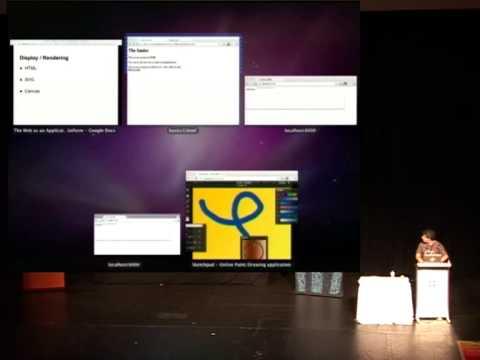 [Linux.conf.au 2012] The Web as an Application Development Platform