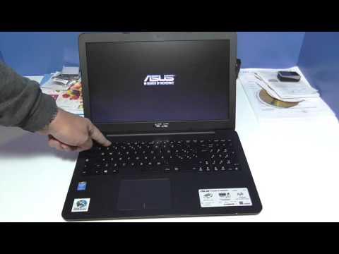 ASUS X554LA-XO1236D Accesso al BIOS con Windows 10