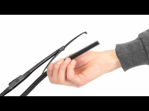 Replacing wiper blade rubbers