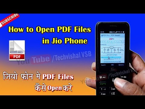 How To Open PDF Files in Jio Phone Latest trick   Jio Phone Latest trick Read PDF File