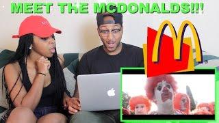 "Couple Reacts : ""Meet the McDonalds"" by RackaRacka Reaction!!"