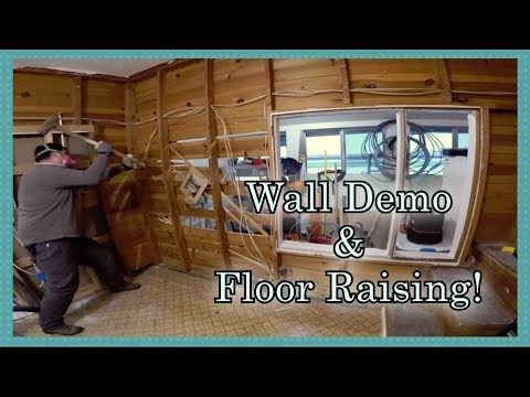 Removing a Wall...Raising the Floor