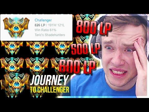 WHY AM I FACING 800LP CHALLENGERS IN MY PROMOS????????? - Journey To Challenger | League of Legends