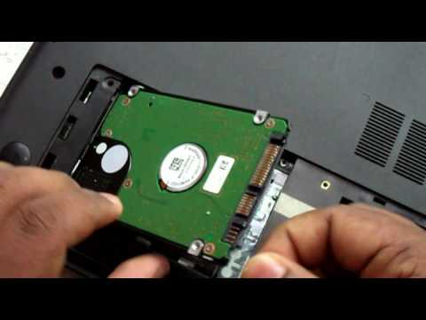 how to remove and replace hard drive  dell inspiron 15 3521