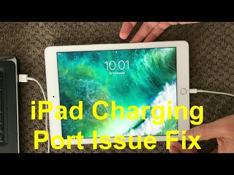 iPad Charging Port Problem And Fix, How To Fix Battery Not Charging Issue on iPhone or iPad