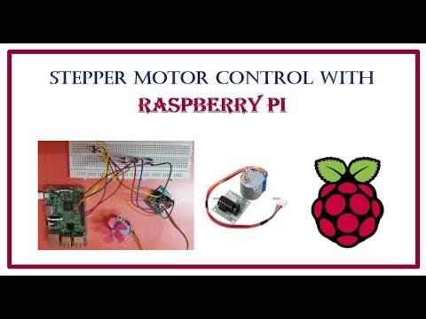 Raspberry Pi : Stepper Motor Control using Python Script