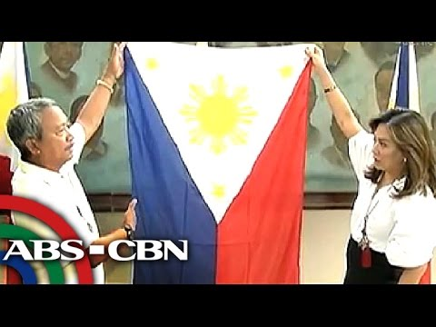 How to respect the Philippine flag