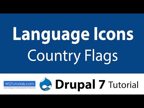 Drupal 7 - How To Add Country Flags
