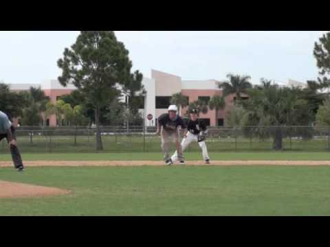 Second to third base running