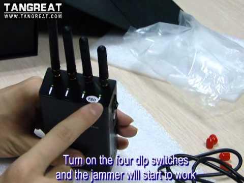Portable cellphone jammer,GPS jammer, WIFI jammer, Bug Jammer, 5G jammer