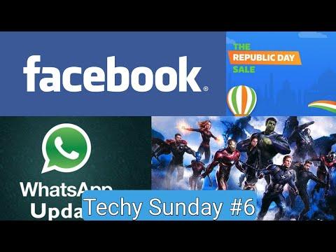 Techy Sunday #6   Spiderman, Flipkart, Whatsapp, Facebook LOL,   Techno Buzzer