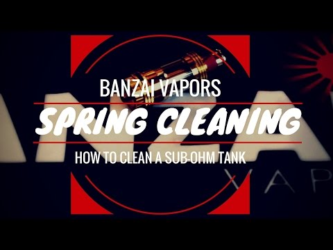 How To Clean Your Tank