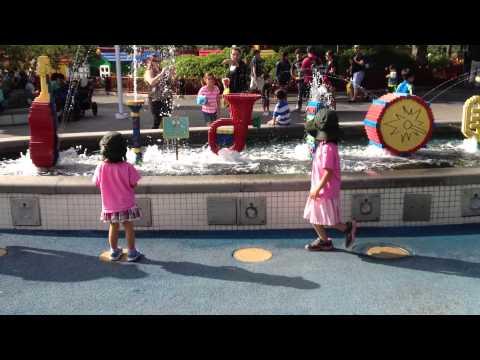 Melody fountain (Legoland in Anaheim, CA)