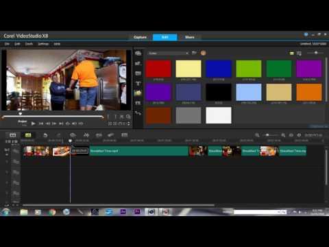 How to make a movie trailer in Corel Videostudio