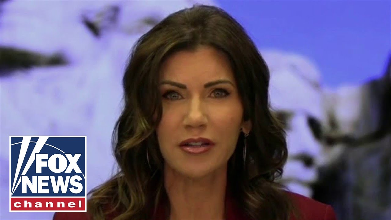 Kristi Noem calls out liberal media's lies