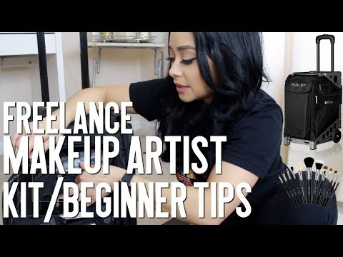 FREELANCE MAKEUP ARTIST  | Kit Basics | ZUCA PRO ARTIST