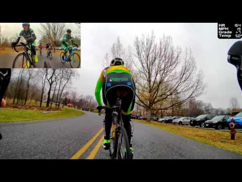 HD 2017 Road Bicycle Racing - 50 Minute Circuit Race (Trainer/Rollers)