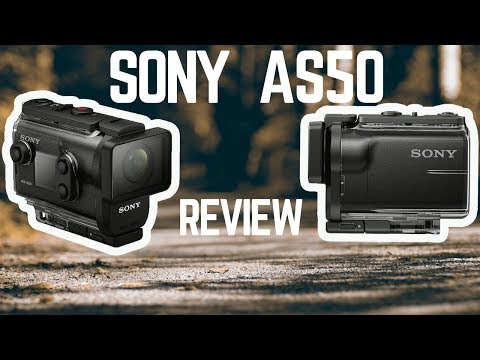 Sony HDR - AS50 Action camera REVIEW