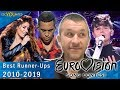 Eurovision Runner Ups Top 10 With Reaction 2010 2019