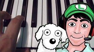 El Rap De Fernanfloo - Bambiel - Piano Tutorial - Notas Musicales