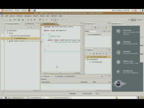 Use Ant with Eclipse 3.4 Java 6 and Ubuntu Part 1