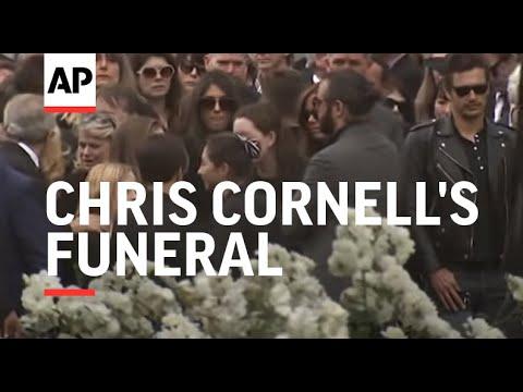 Brad Pitt, Christian Bale, Pharrell, Josh Brolin, more attend Chris Cornell's funeral