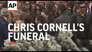 Brad Pitt, Christian Bale, Pharrell, Josh Brolin, more attend Chris Cornell