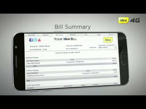 How to understand your Idea Smart Bill