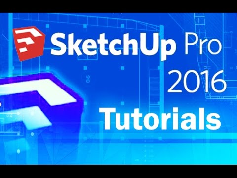 SketchUp 2016 - Advanced Tools and Sandbox Tutorial