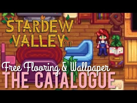 How to get the Catalogue in Stardew Valley 1.1
