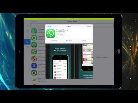 Como Instalar Whatsapp en Cualquier Ipod y Ipad facil y rapido 2015