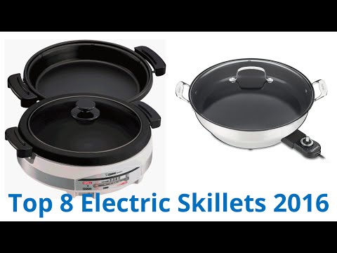 8 Best Electric Skillets 2016