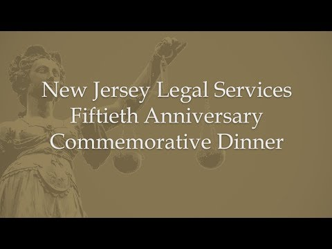Highlights-NJ Legal Services 50th Anniversary Commemorative Dinner
