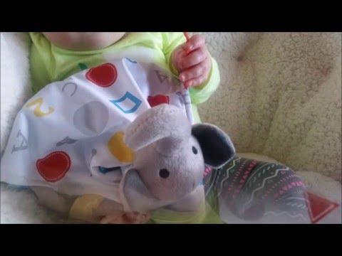 Baby Jack and Company #babyjackfan educational tag blankets