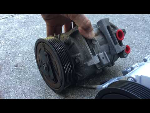 AC Compressor Replacement - 2007-2012 Nissan Altima - How To Fix AC System