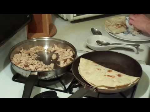 How to Make Chicken Quesadillas ! - Cooking