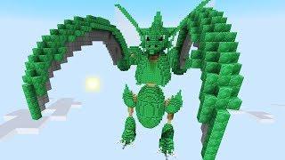 Minecraft vs Pokemon Go  | GIGA SCYTHER!! | (PvZ/Pokego Land)