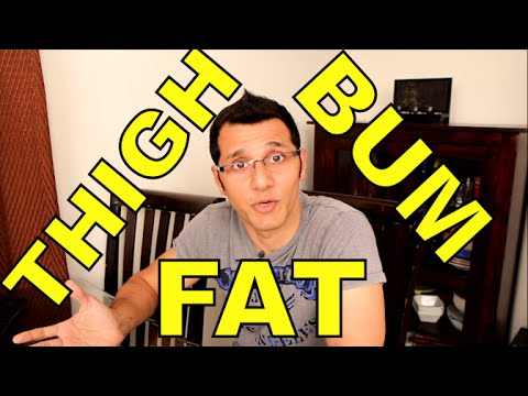 How to Lose Weight and Fat from Thighs & Buttock