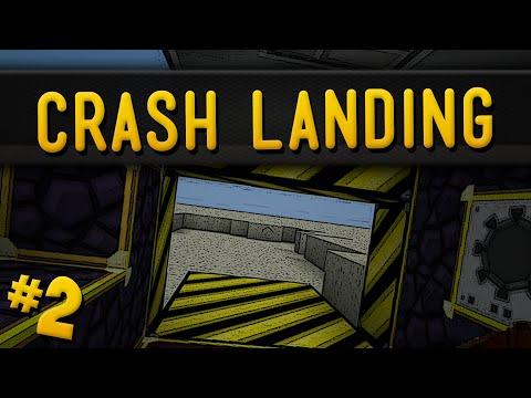 Minecraft Crash Landing - Part 2 - Turning Cobble Into Lava!