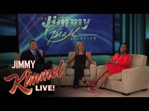 Jimmy Kimmel Pitches OWN Shows to Oprah