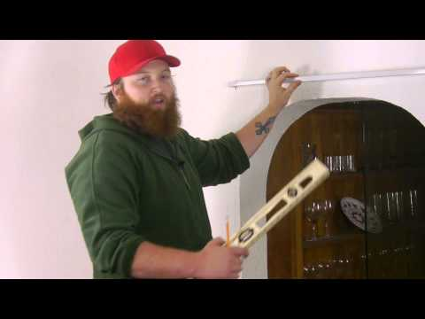 How to Hang Curtains on Plaster Walls : Plaster Walls